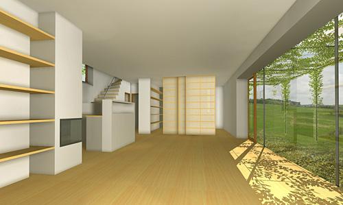 Low-energy family house inIvančice
