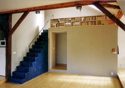 Flats in attic in Prague 5