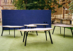 Summer classroom of an elementary school in Prague 1