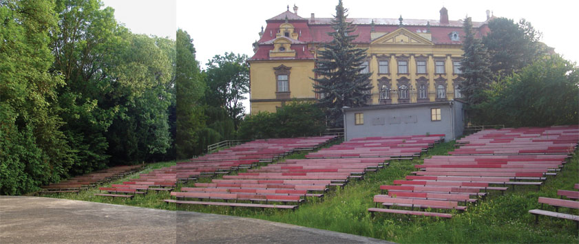 Conversion of open-air cinema inChrudim