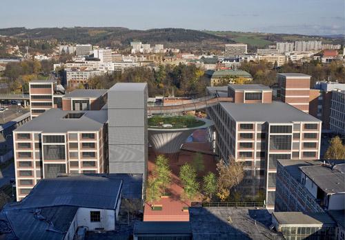 Regional cultural and educational center inZlín