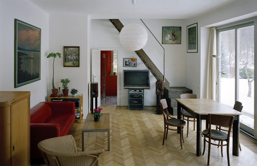 Two-storey flat in Prague 6