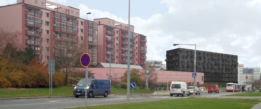 Multi-functional building in Prague, U Kunratickéholesa