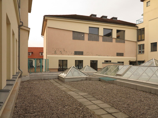 Ground school Prague - Ďáblice - extension and renovation, 1st phase