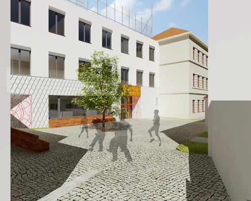 Ground school Prague - Ďáblice - extension and renovation, 2nd phase