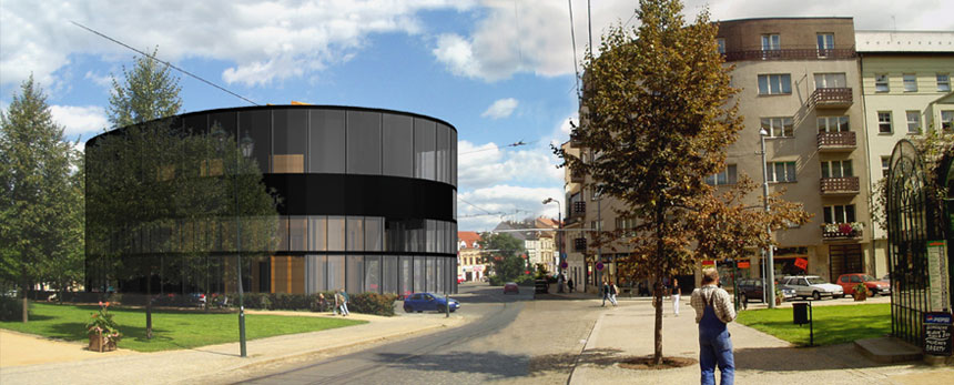 "Competition for a house ""U Zvonu"" in Plzeň"